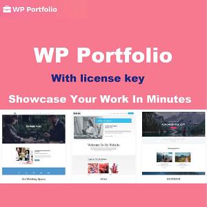 WP Portfolio plugin with license key for lifetime