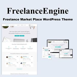 FreelanceEngine Freelance Marketplace WordPress Theme