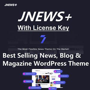 Jnews theme with license key