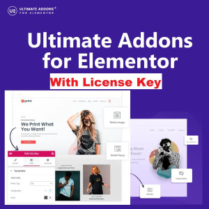 Ultimate addon for Elementor with License Key